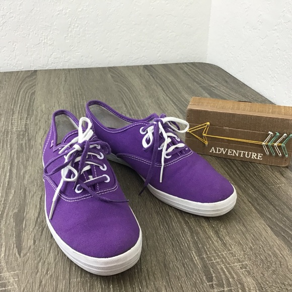 f70d69c45 Keds Shoes - KEDs Champion Classic Canvas Purple Sneakers